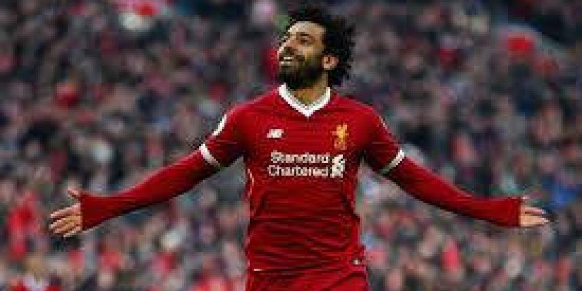 Salah monta su show con Liverpool en la Champions