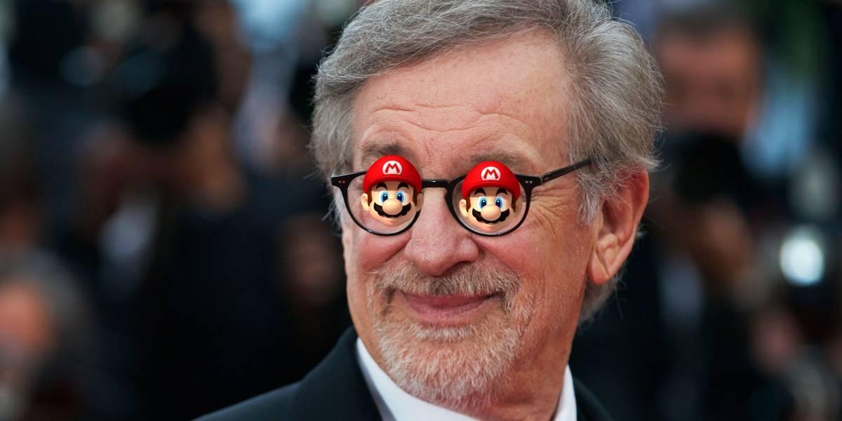 ¿Se volvió loquito? Steven Spielberg dice haber jugado Mario en una PlayStation