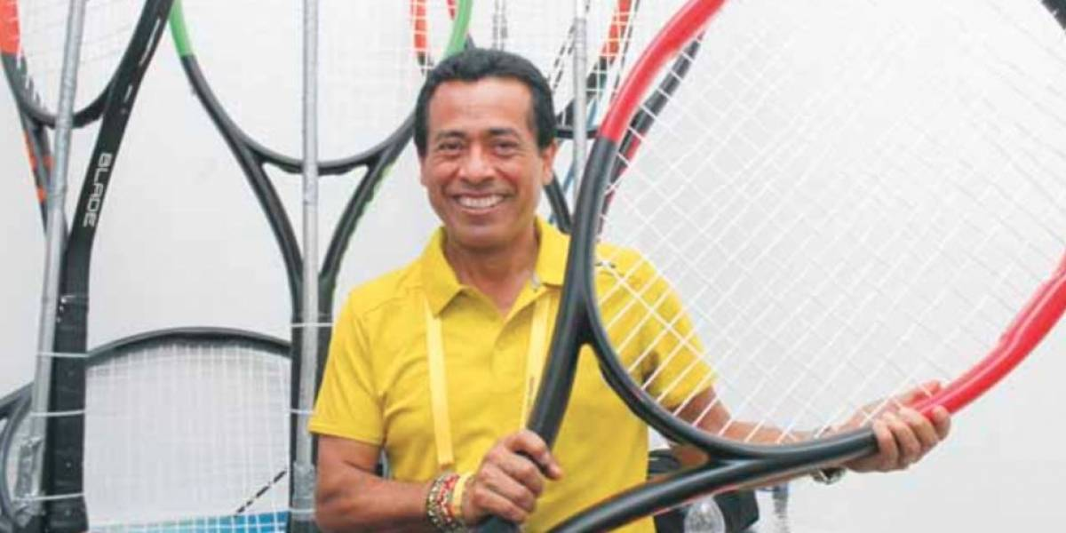 """""""Tano"""" Cruz, la mente maestra detrás del Abierto Mexicano de Tenis"""