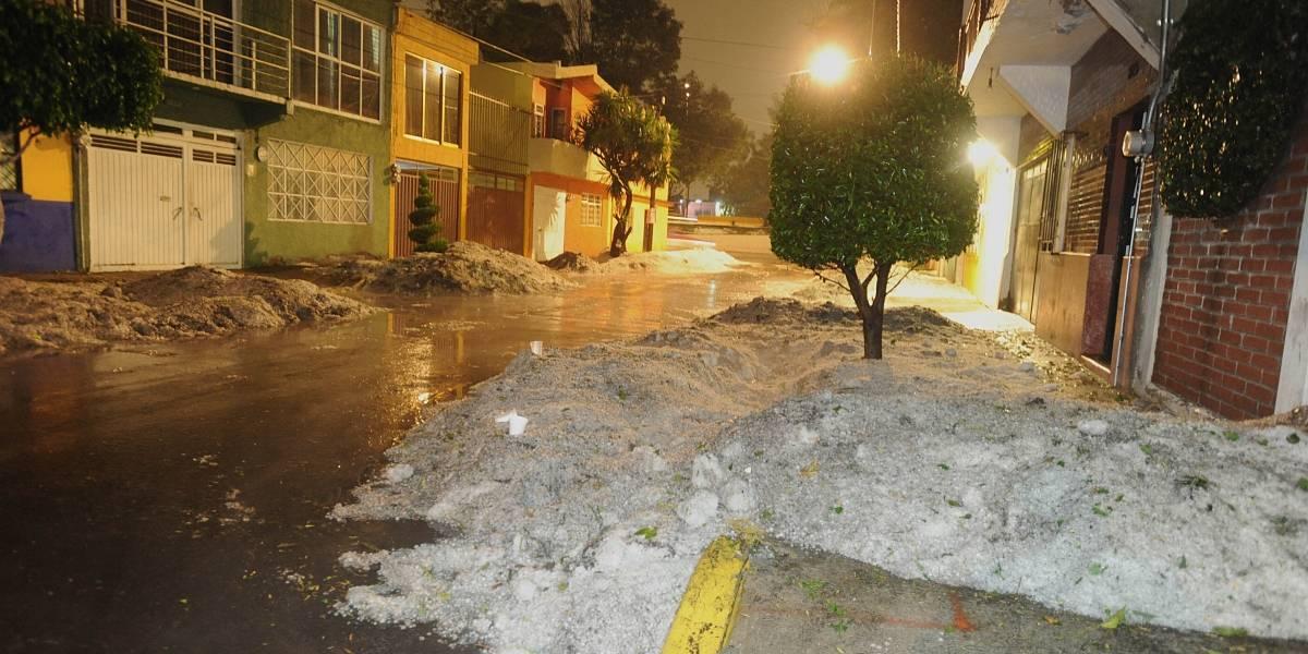 Seguirán fuertes lluvias y granizadas en gran parte del país