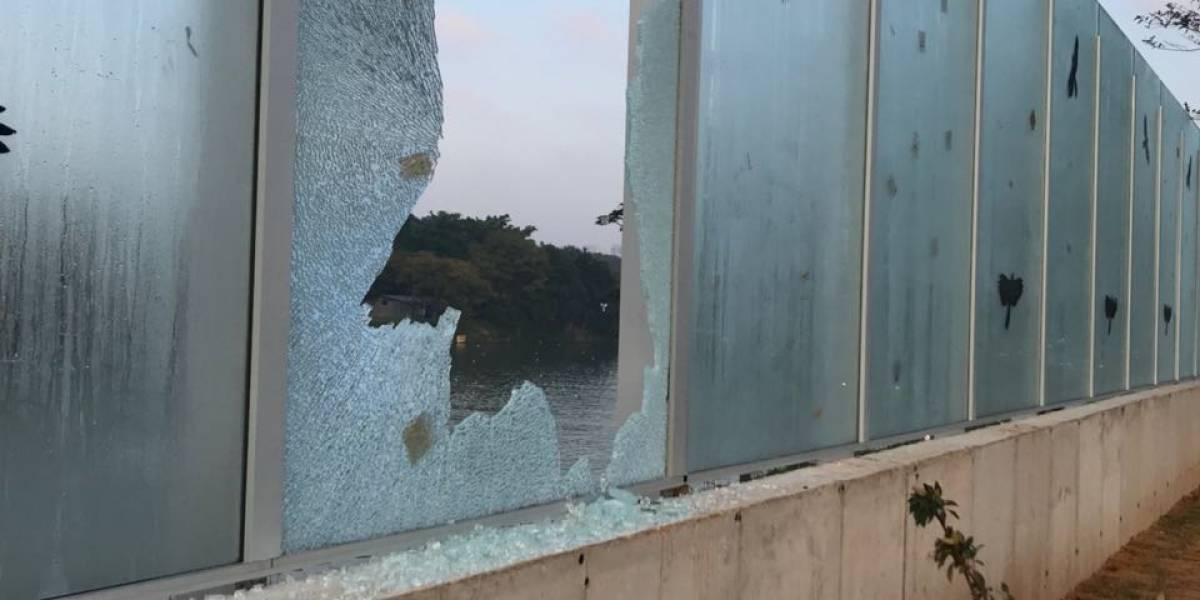 Por que os vidros da USP quebraram três vezes em uma semana?