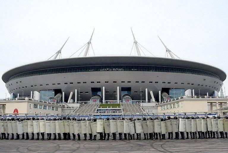 El estadio ubicado en San Petersburgo