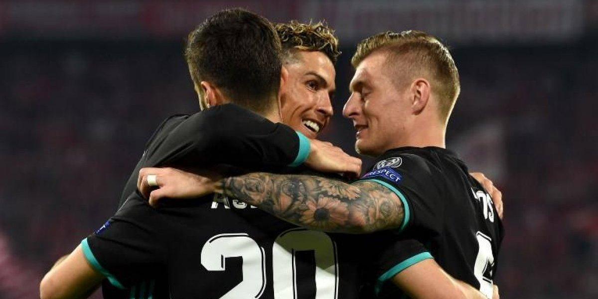 Marcelo y Asensio le dan la ventaja al Madrid que se acerca a una nueva final