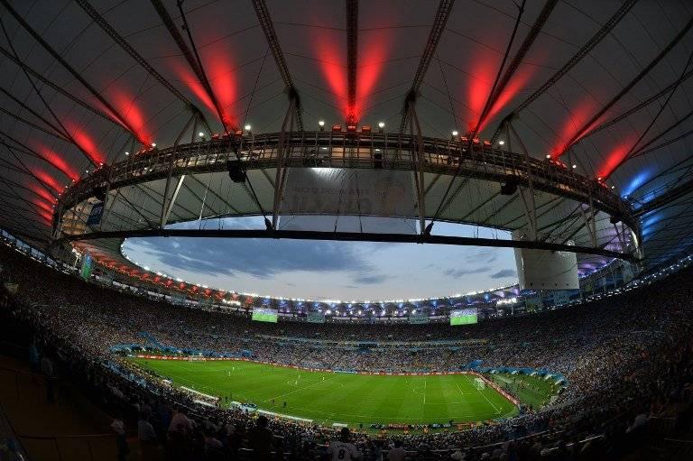 El estadio Maracaná para la final de Brasil 2014