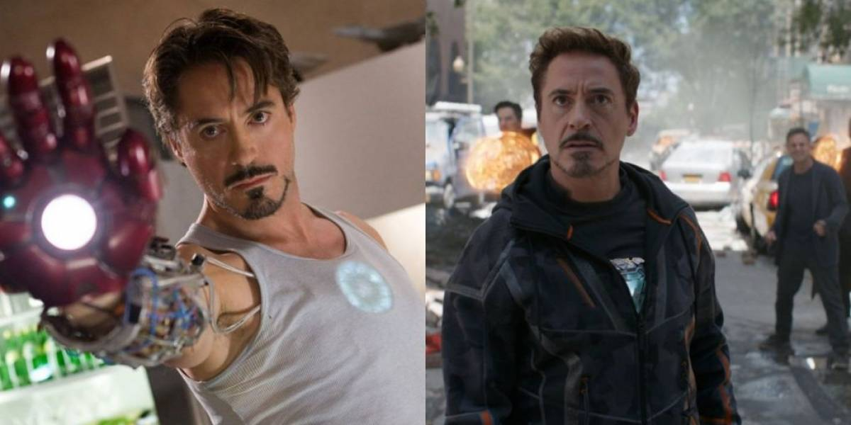 O antes e depois dos principais heróis de Vingadores: Guerra Infinita