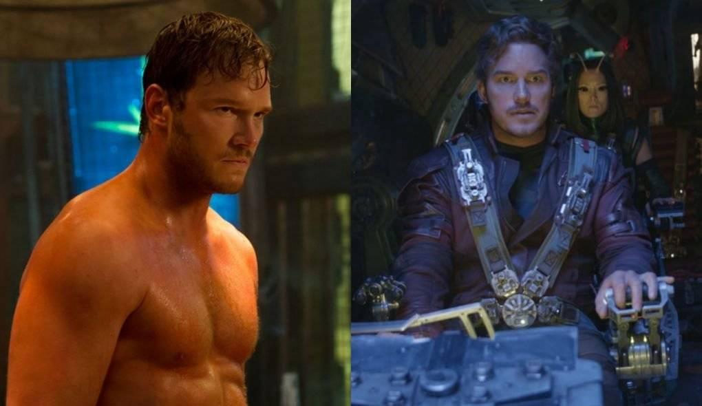 Chris Pratt Guardiões da Galáxia e Vingadores: Guerra Infinita