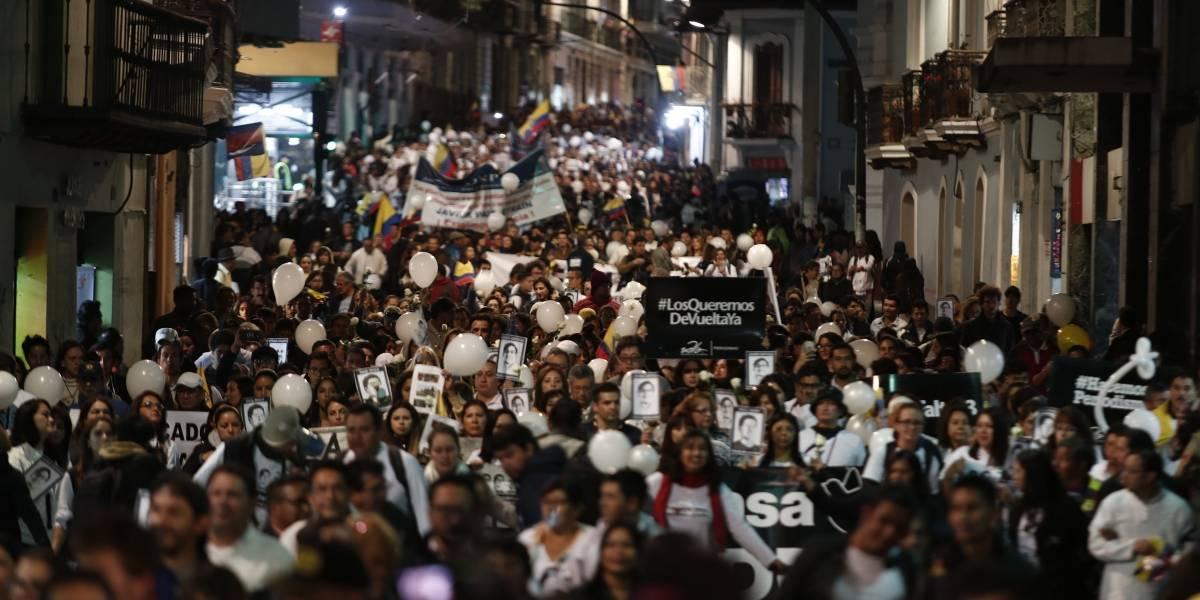 Incertidumbre sobre cuerpos de periodistas de El Comercio tras un mes del secuestro