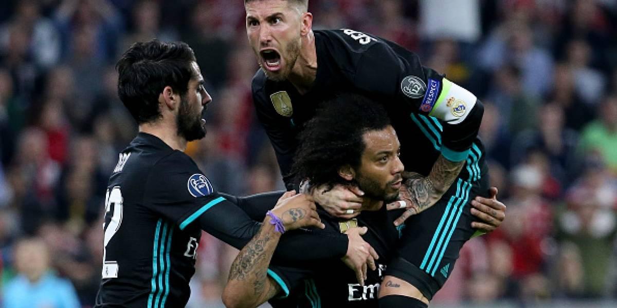 Real Madrid gana 1-2 al Bayern y toma ventaja en las semifinales de la Champions