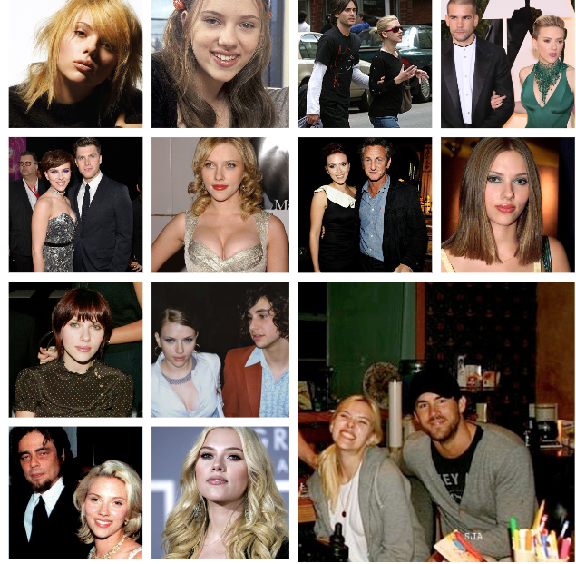 Cambia de parejas como tonos de cabello.