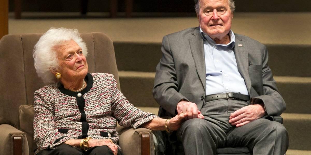 """¿Puede morir George H. W. Bush por el """"síndrome del corazón roto""""?"""