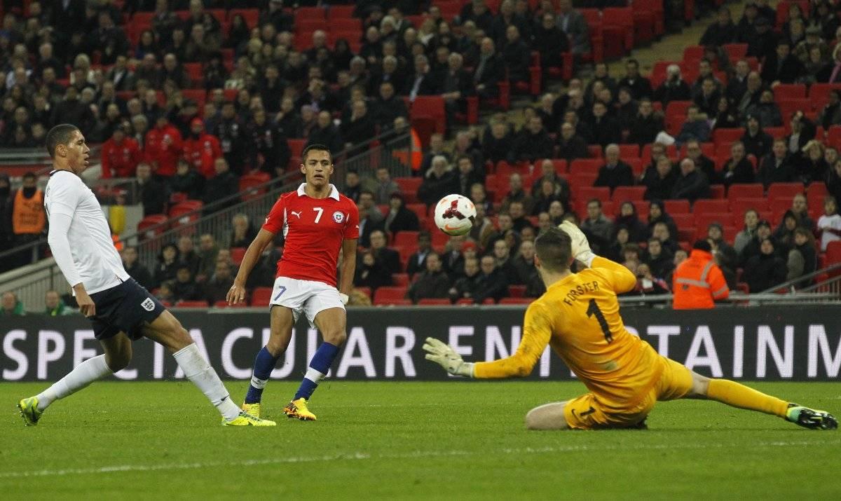 La primera vez que Maravilla se lució en Wembley / imagen: AP
