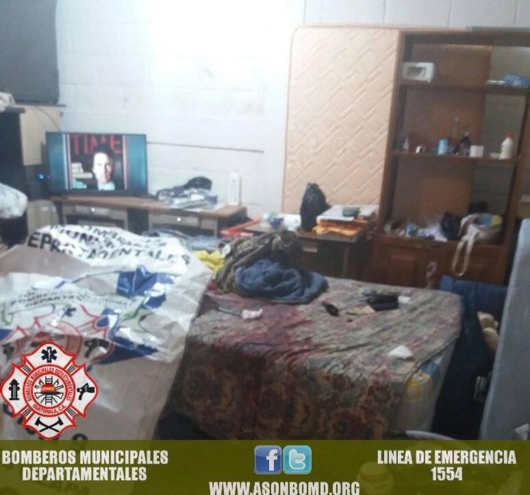 ataque armado en Juzgado de San Andrés Itzapa