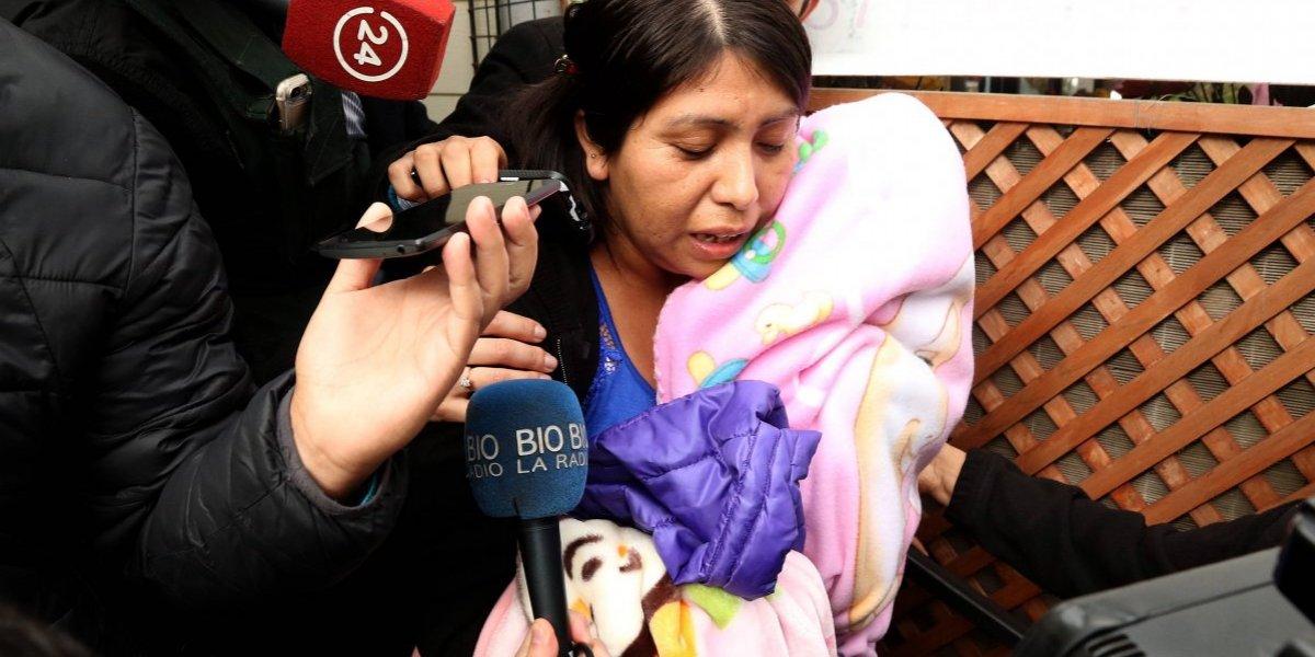 Corte de Apelaciones penquista concede libertad condicional a mujer que dio a luz con los pies engrillados
