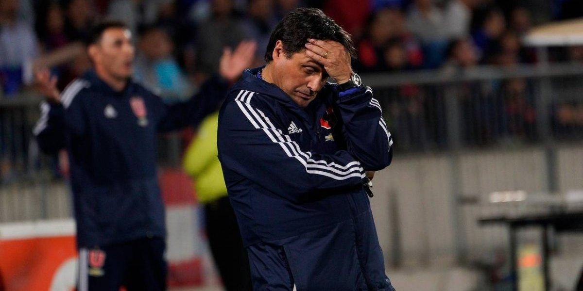 Problemas para la U: Hoyos fue multado y castigado por la Conmebol y no podrá dirigir ante Cruzeiro