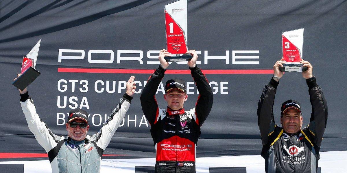 Víctor Gómez IV sigue victorioso en el Porsche GT3 Cup Challenge 2018