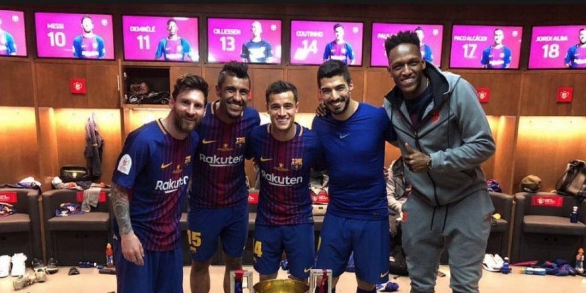 ¿Messi tiene seis dedos en su pie? Una foto así lo sugiere y es viral