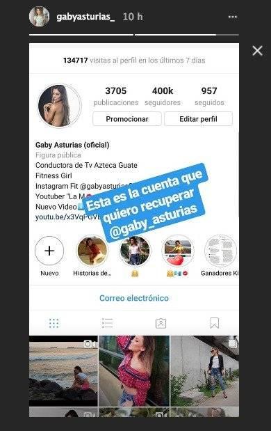 Cuenta de Gaby Asturias