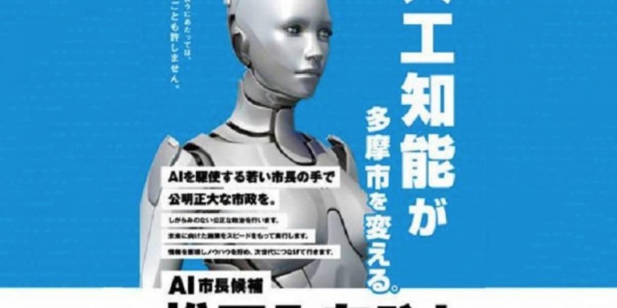 Robot candidato busca eliminar la corrupción con inteligencia... artificial