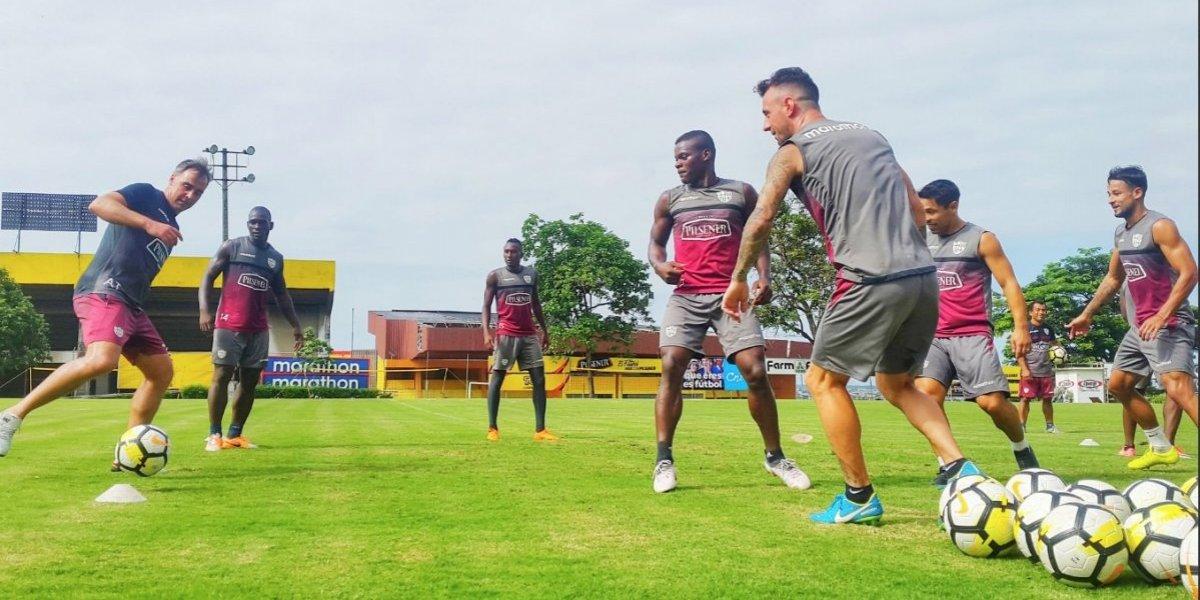 Jugadores de Barcelona SC quieren acabar con la 'racha' de Liga de Quito