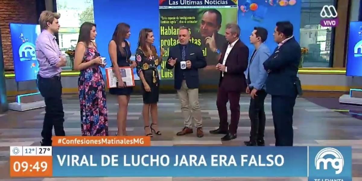 """Las críticas en redes sociales al """"Mucho Gusto"""" por hablar del falso viral de Luis Jara y no de las polémicas de Patricia Maldonado"""