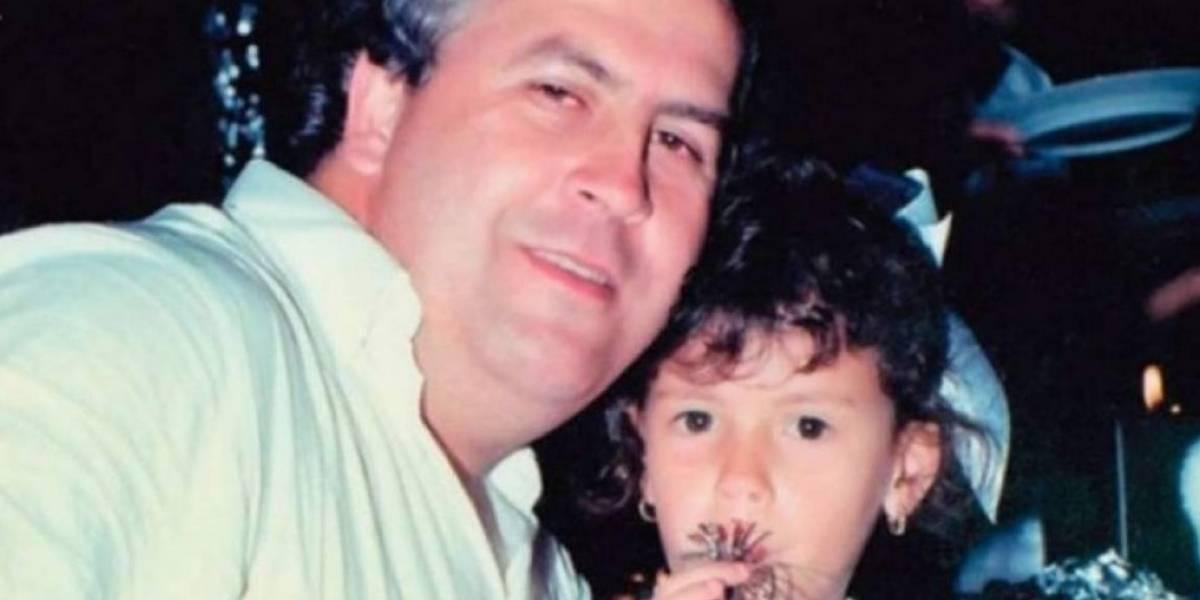 Por primera vez se conoce una fotografía actual de la hija de Pablo Escobar