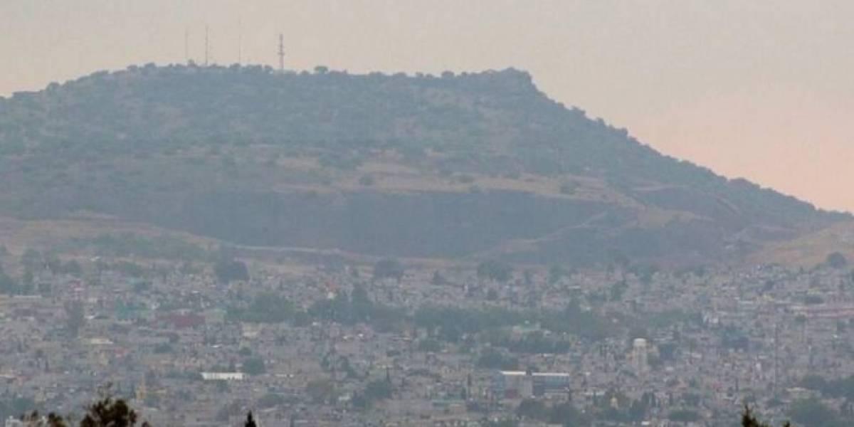 Este cerro será cortado para que aviones despeguen del NAICM