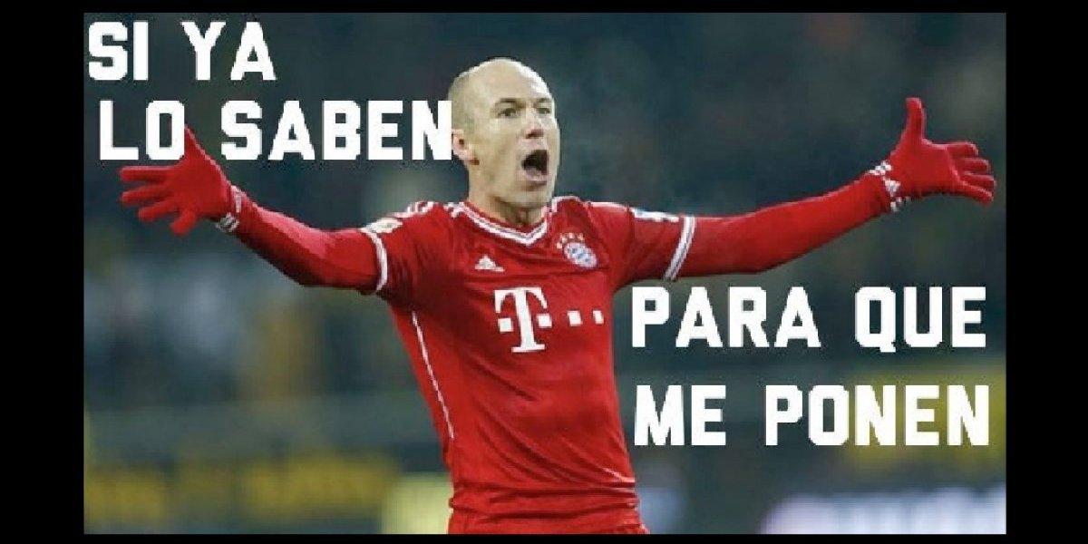 El juego entre el Bayern y el Madrid fue ocasión de burlas en las redes