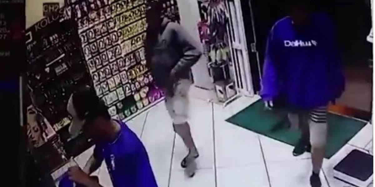 Pela terceira vez em 5 anos, dono de farmácia reage a assalto e mata bandido