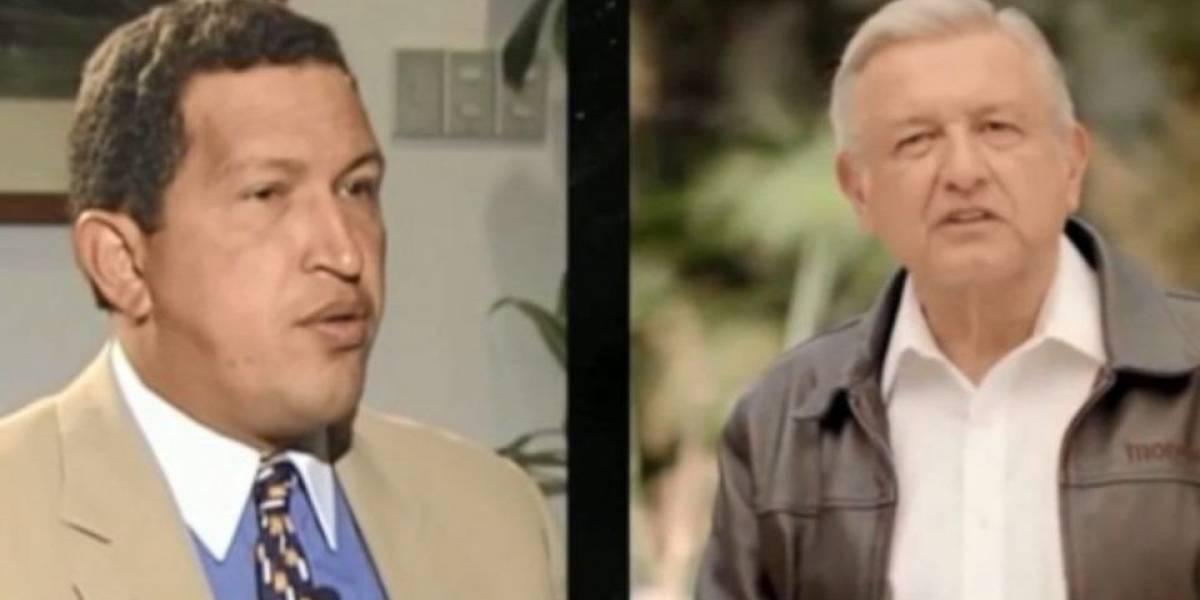 Spots reviven vieja estrategia del miedo contra AMLO; lo comparan con Hugo Chávez