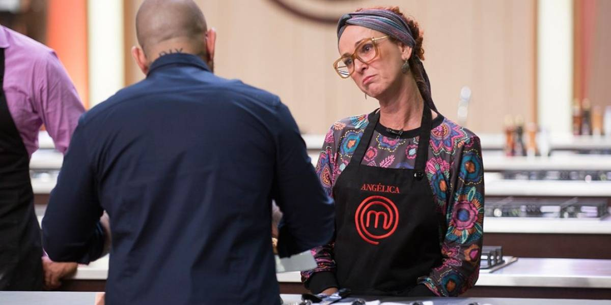 MasterChef Brasil: Angélica falha em torta de pera e é eliminada