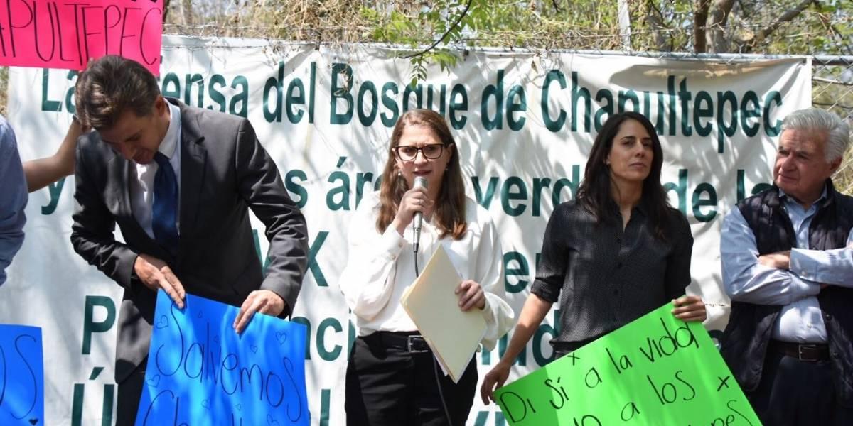 Jueza insiste en dar uso residencial a área del Bosque de Chapultepec, acusan