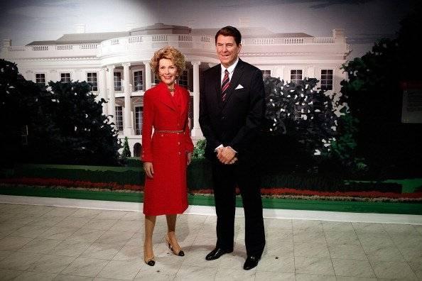 Ronald Reagan y su esposa Nancy Foto: Getty Images