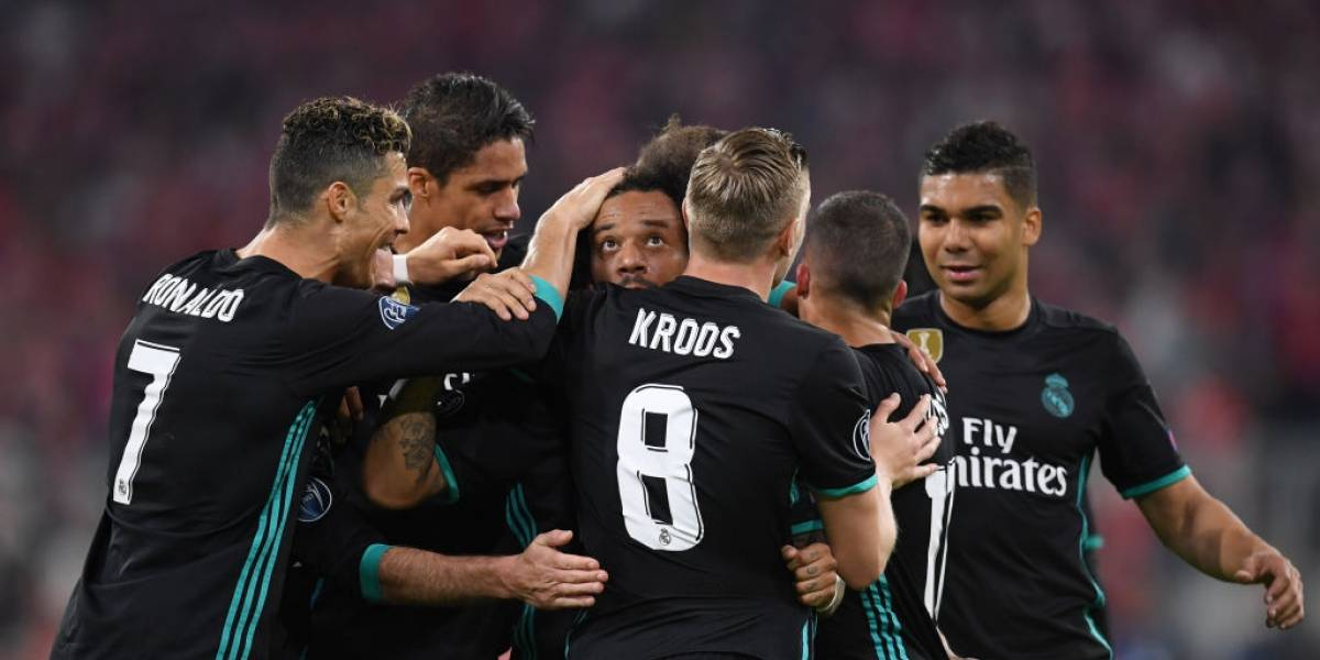 Real Madrid le demostró al Bayern por qué es el amo y señor de la Champions League
