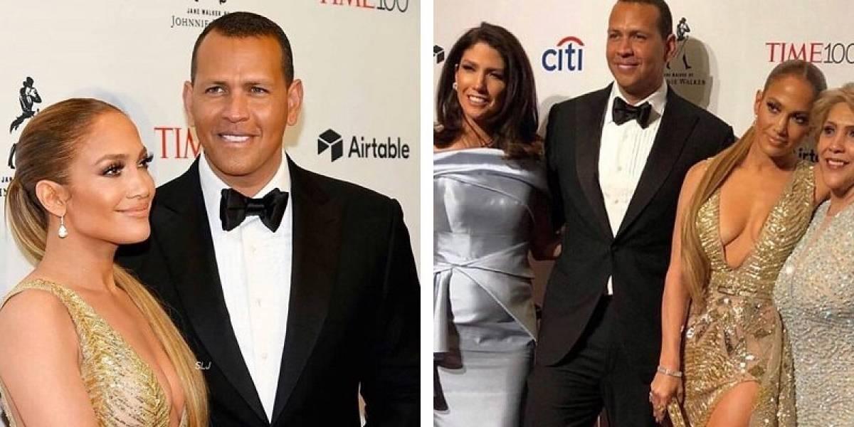 JLO y Alex Rodríguez deslumbran en la ceremonia de la revista Time