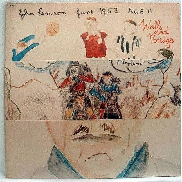La portda del disco de John Lennon que inmortalizó el gol de Robledo