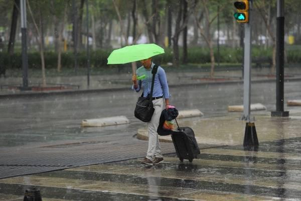 Lluvias y calor en el país