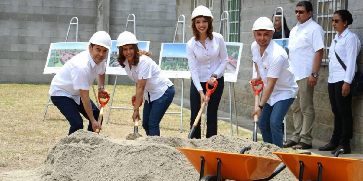 Colocan la primera piedra del Centro Especializado en Reinserción para jóvenes