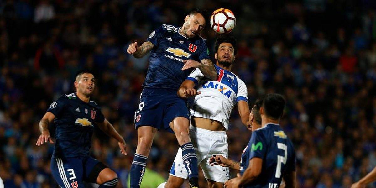 La U busca dar el golpe de gracia a Cruzeiro y acercarse a octavos de final en la Libertadores