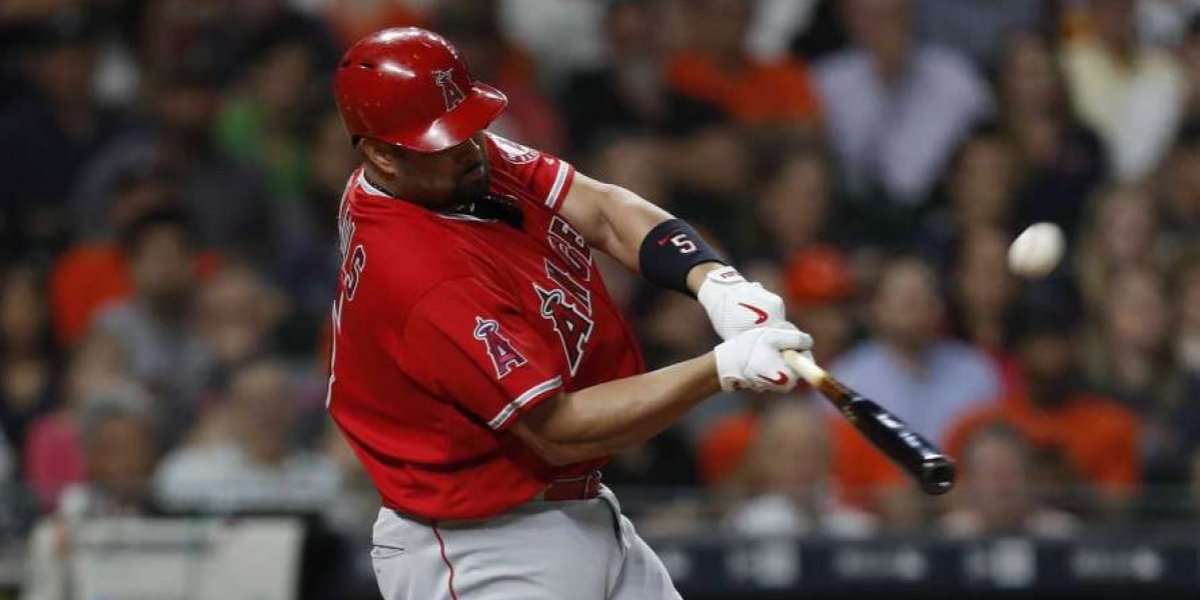 Albert Pujols es un Astro en Houston