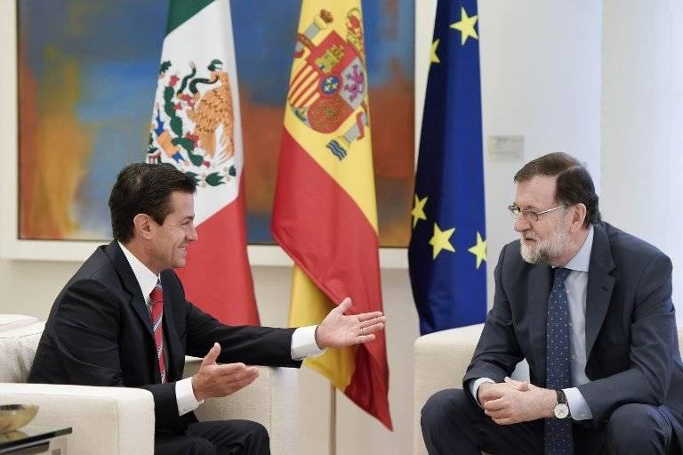 Enrique Peña Nieto y Mariano Rajoy