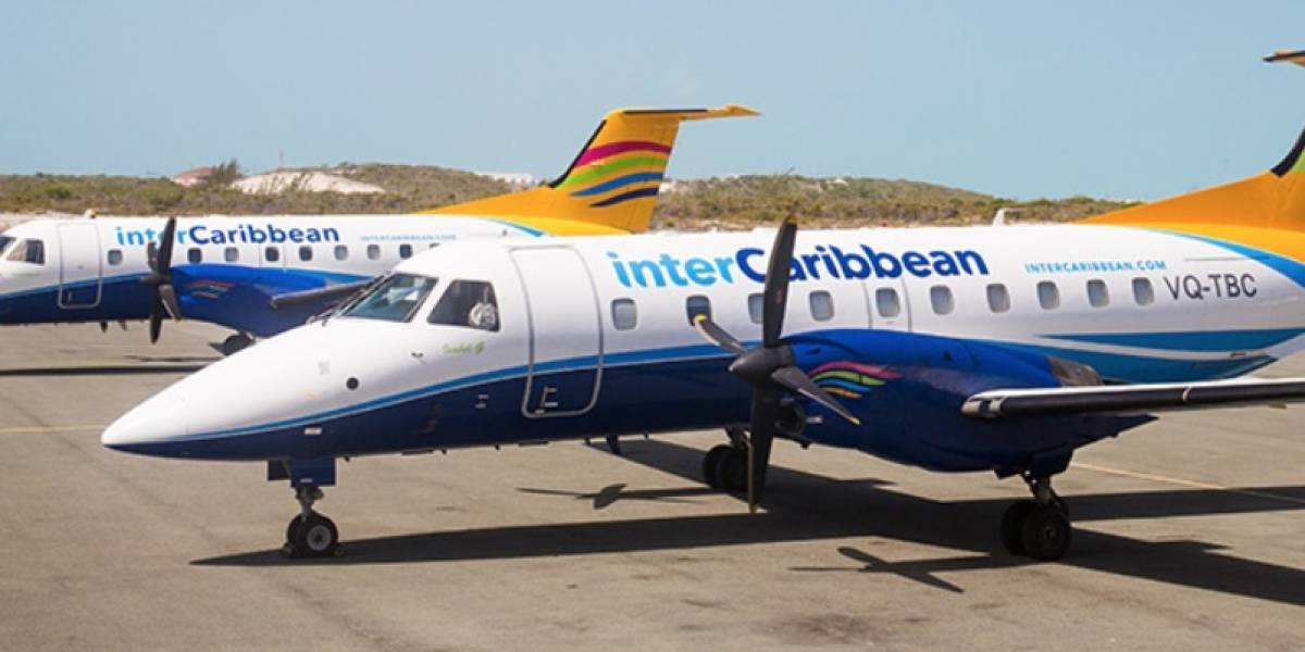InterCaribbean Airways cancela operaciones a St. Thomas y St. Croix