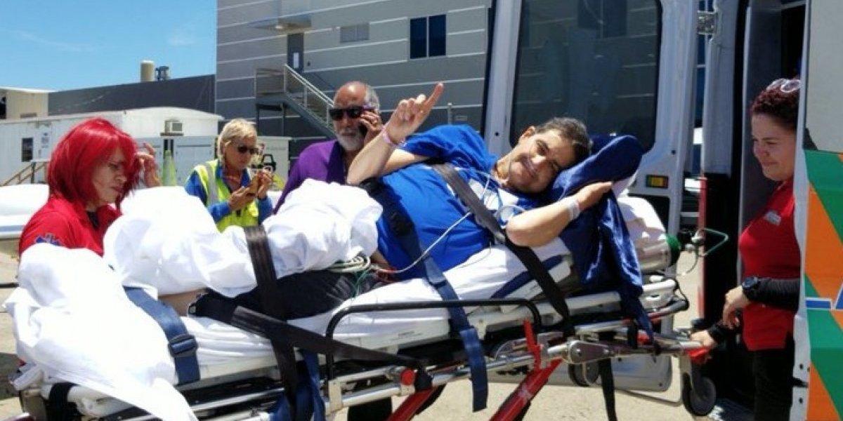 Billy Fourquet parte hacia Houston para tratarse su cáncer