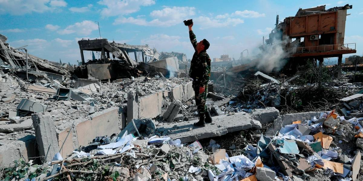 Toman muestras en ciudad siria de supuesto ataque químico