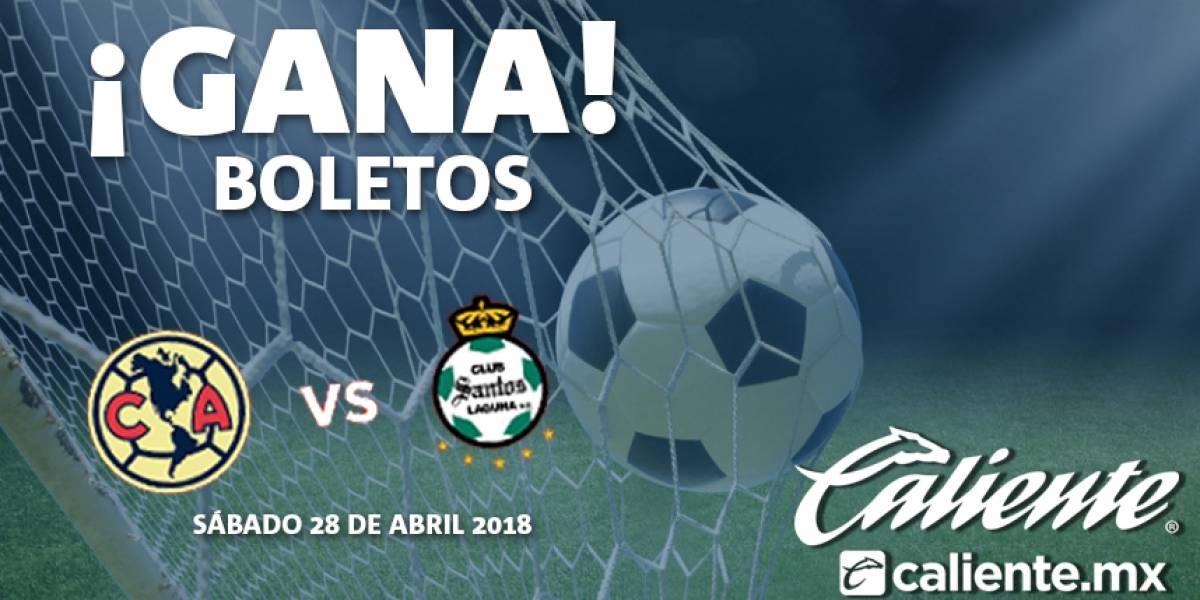 ¡Gana! boletos para el América vs Santos