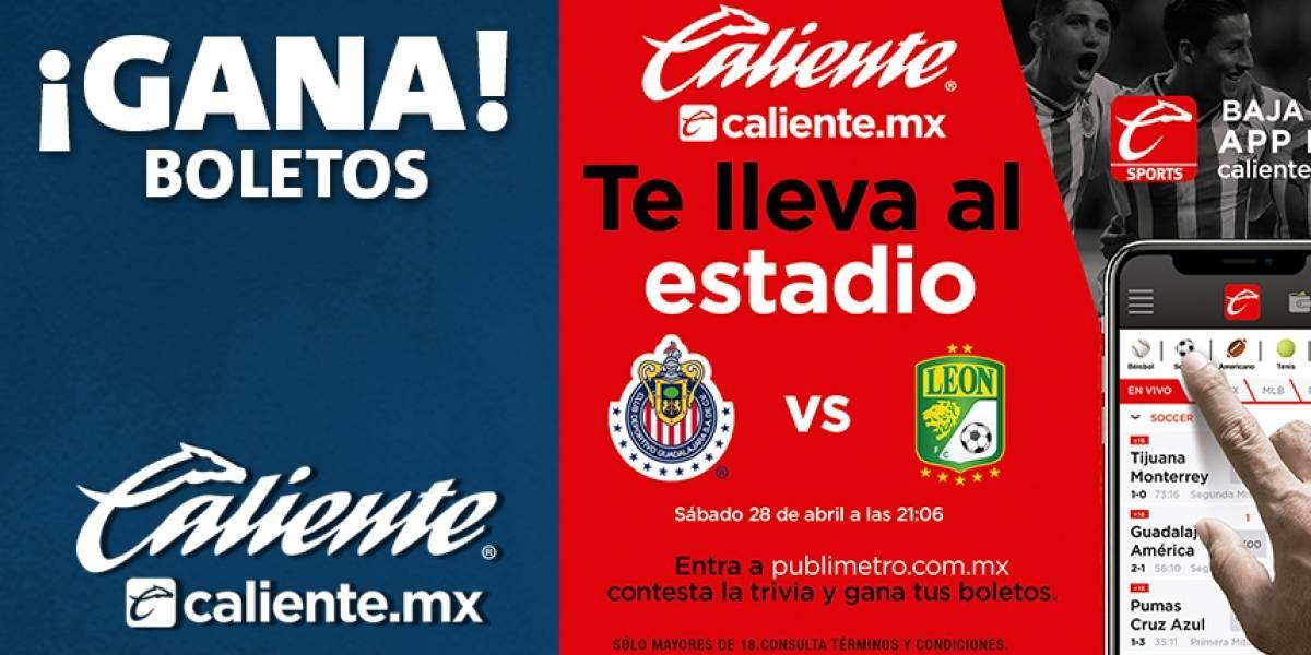 ¡Gana! pases para Chivas vs León