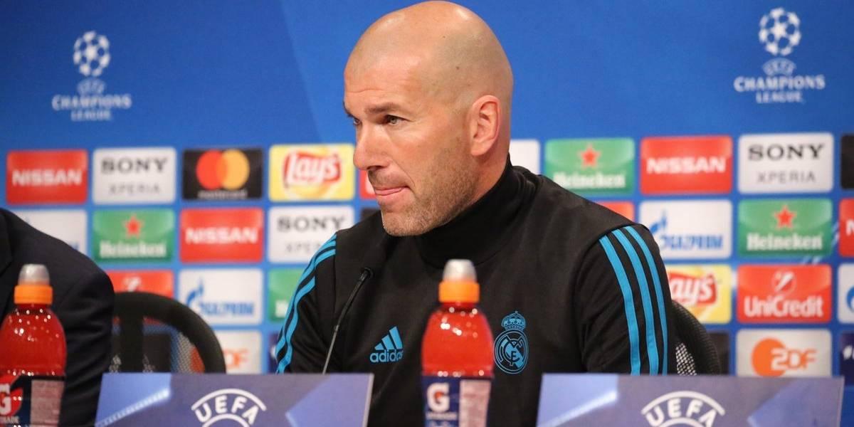 """Zidane saca pecho en el Real Madrid: """"Para nosotros no existe eso de cagarnos en los pantalones"""""""
