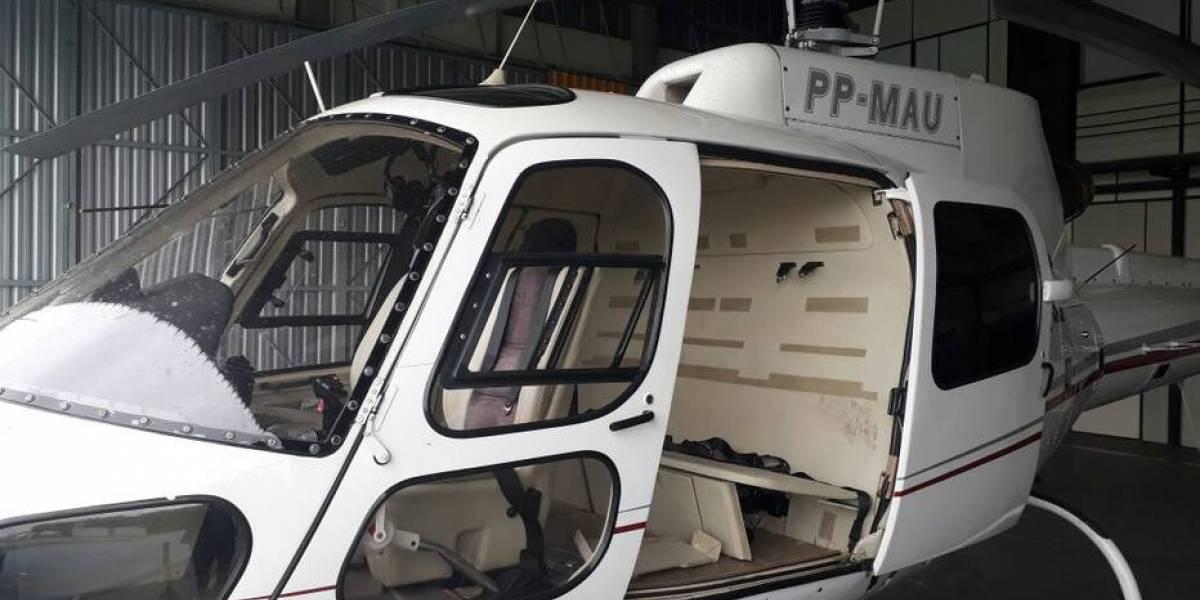Polícia liga helicóptero apreendido com ex-piloto de deputado à morte de Gegê