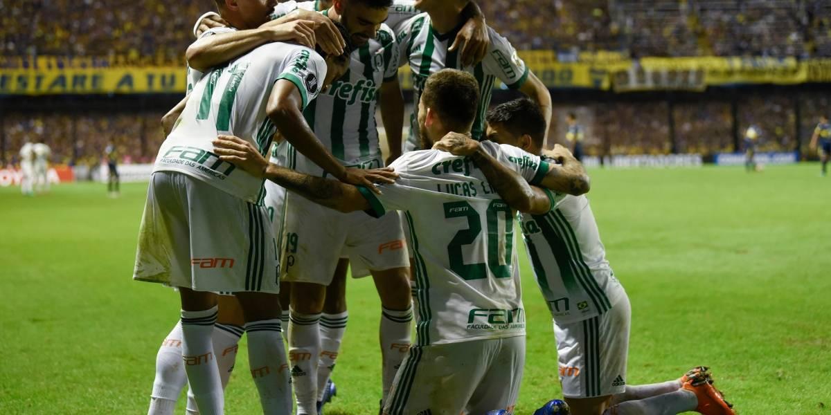 Palmeiras golpea a Boca en La Bombonera y es el primer clasificado a los octavos de final de la Libertadores