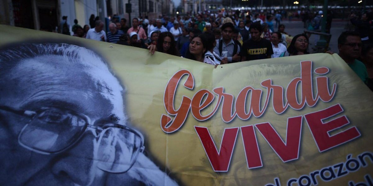 Gerardi, memoria viva para una Guatemala distinta
