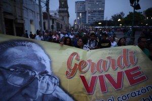 Caminata por 20 aniversario de muerte de Gerardi